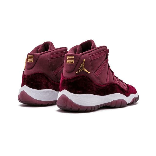 "9b2e99ff9669b3 Original New Arrival Authentic NIKE Air Jordan 11 Retro RL GG ""Velvet"" Mens  Basketball Shoes Sneakers Sport Outdoor free shipping worldwide"