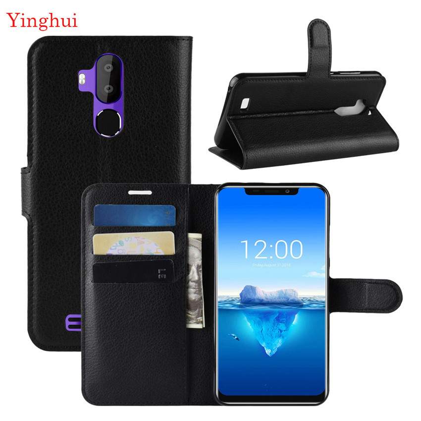 Cases Oukitel C12 Stand-Cover Flip For Wallet Filp High-Quality Pro