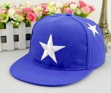 Free shipping summer baby cap fashion baseball caps snapback boy girl hats design hiphop cap five-star hats 4 colors wholesale
