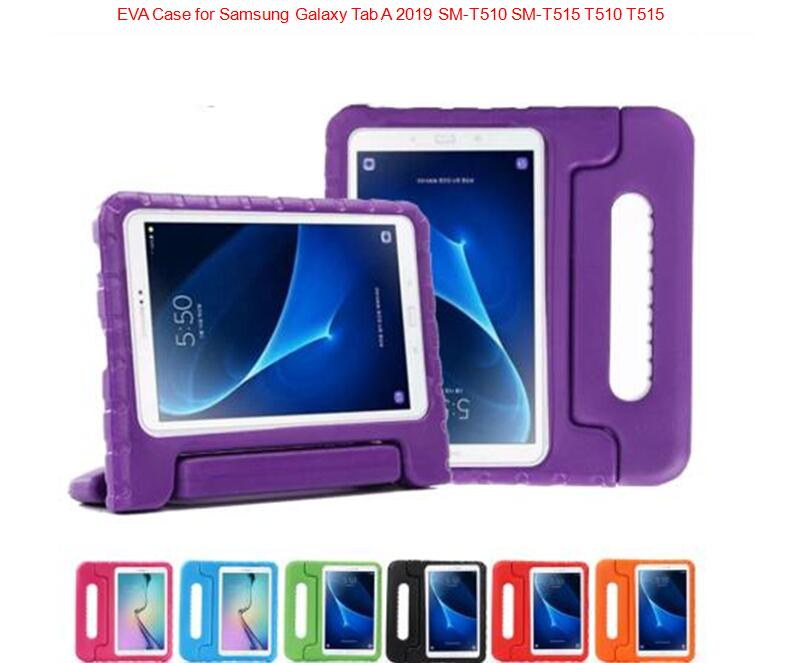 Soft Shockproof Case Kids Silicon Protective Cover For Samsung Galaxy Tab A 10.1 2019 T510 T515 Children Tablet Shell + Film
