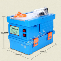 Dust Free Woodworking Saw Solid Wood Flooring Installation Work Table Saws Multifunctional Vacuum Saw Table Saw KDL150