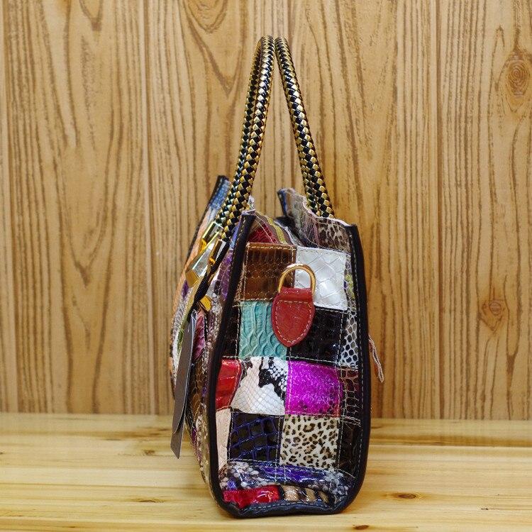 الأزياء الشهيرة مصمم جلد طبيعي فاخر حقائب كتف للنساء اعوج نصب منصة السيدات كبيرة اليد حمل حقيبة-في حقائب قصيرة من حقائب وأمتعة على  مجموعة 3