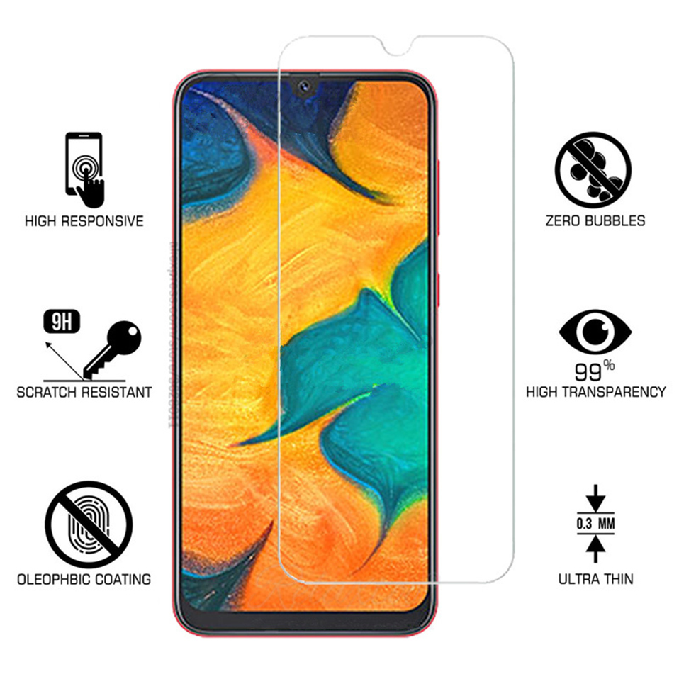 Protective Glass For Samsung A30 Screen Protector On The For samsung  A70 A50 A10 A40 A20 Tempered Glas  (7)
