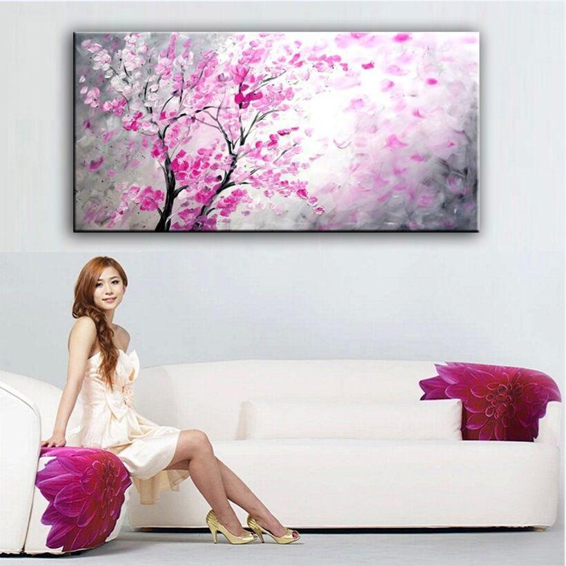 100% dipinto a mano pittura a olio decorazione della Casa di alta qualità fiore pittura immagini DM16072901