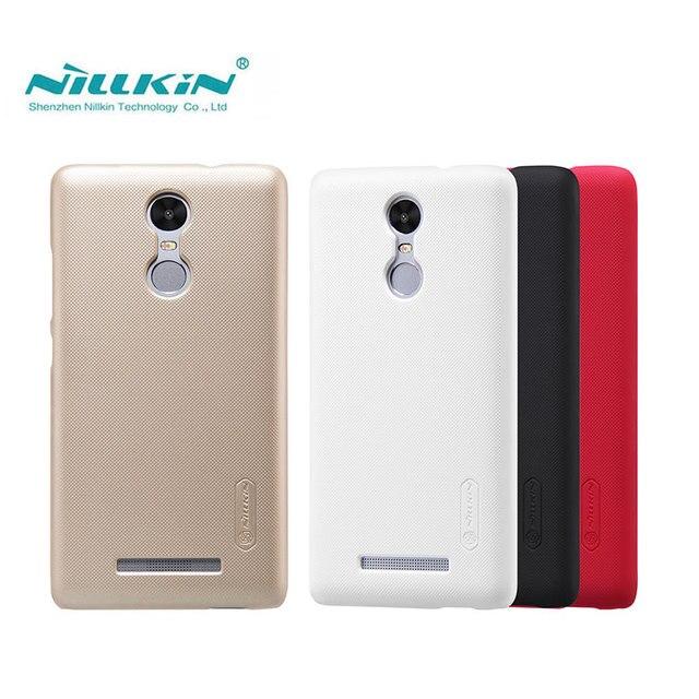 Xiaomi Redmi Note 3 Case Xiaomi Redmi Note 3 Cover Nillkin Frosted Shield Case For Xiaomi Redmi Note 3 Pro Prime Gift Film