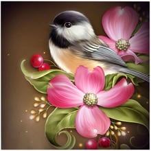 Diamond Embroidery Paintings Rhinestone Pasted diy Diamond painting Free Shipping printed classic Bird and Flower