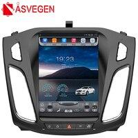 Asvegen Car Radio For Ford Focus 2012 2015 Vertich 10.4'' Android 6.0 Quad Core 2GB Ram DVD GPS Navi headunit Stereo Multimedia