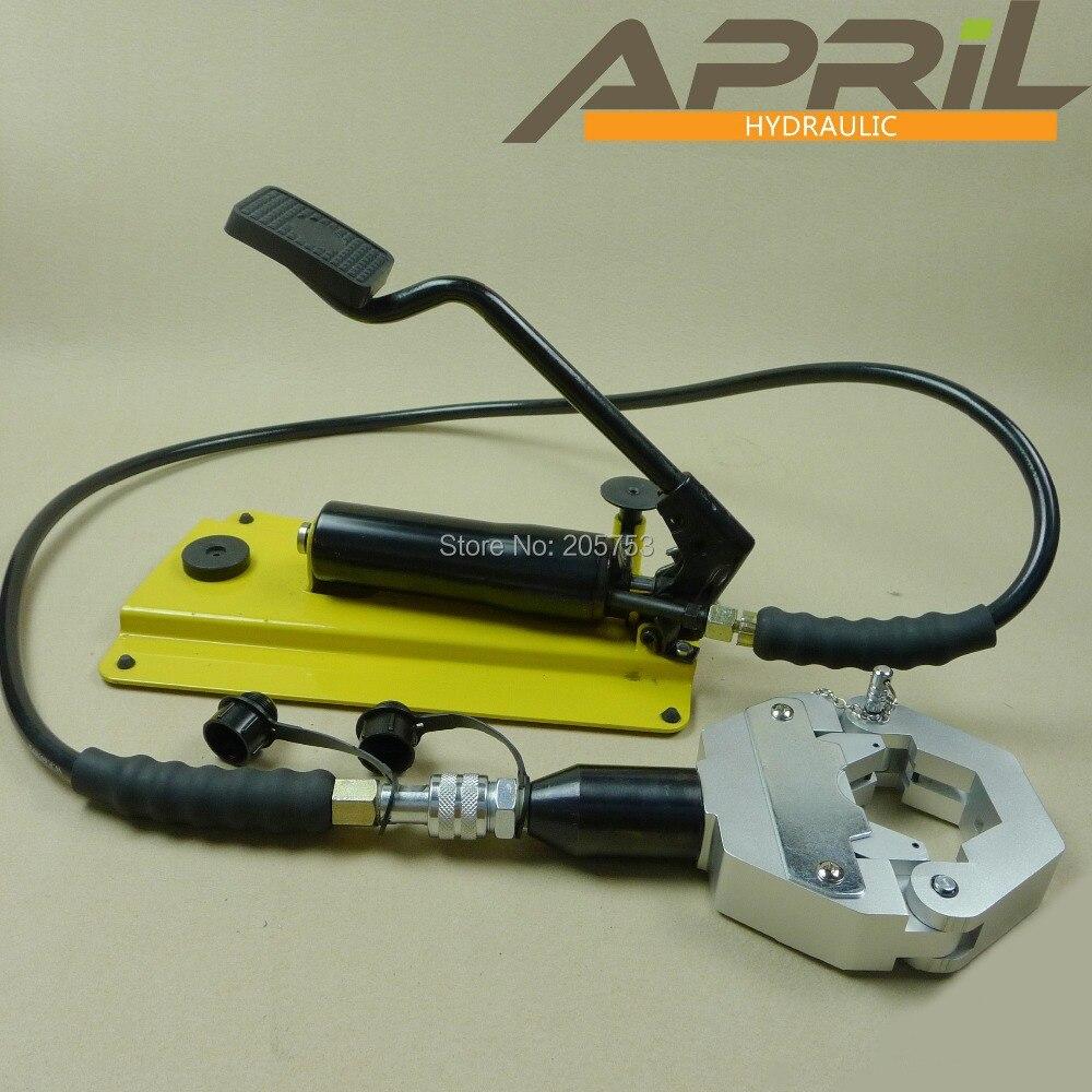 Hydraulic A C Hose Crimper Kit Ac Repair Tools Yl 7842a 1 For Car