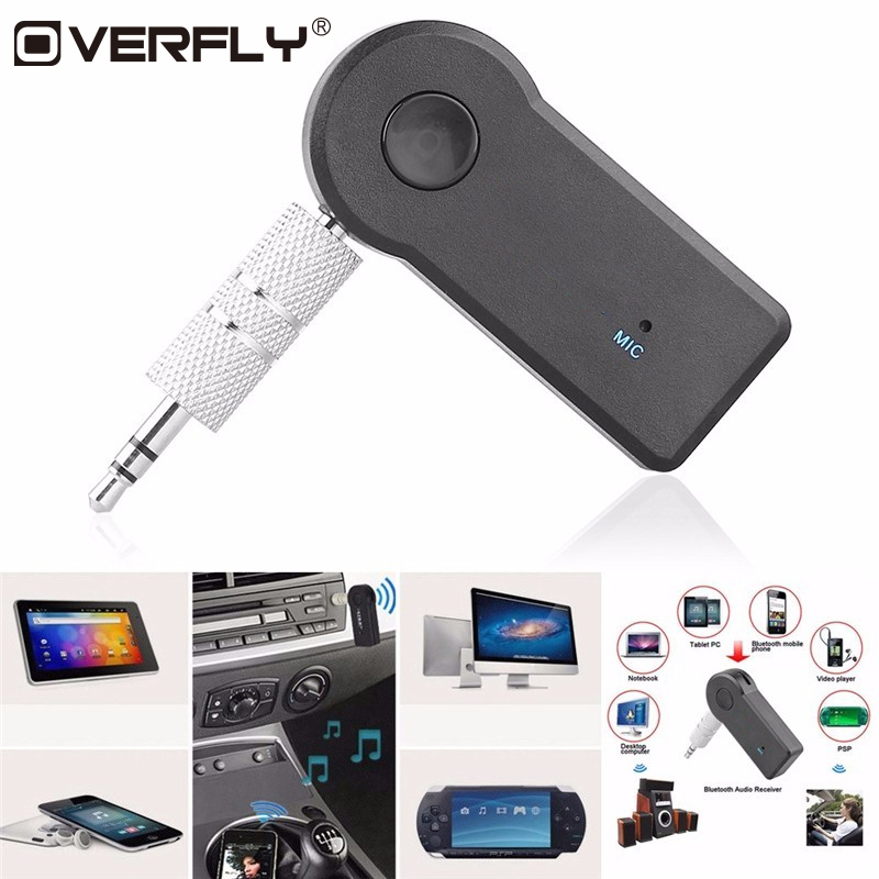 Wireless Bluetooth 3.5mm AUX Audio Music Car Receiver Adapter For xiaomi Note 3