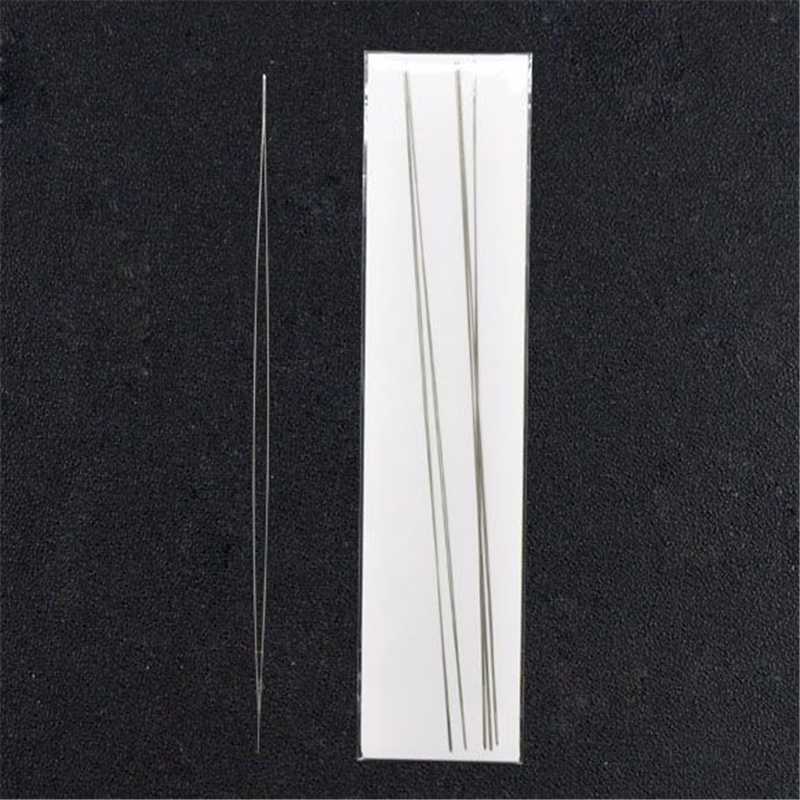 DoreenBeads Big Eye Curved Beading Needles Easy Thread 125x0.6mm Creative Fashion Jewelry Making Material,sold per pack of 6