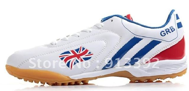 Most Popular Athletic Shoes ,Team Sports Outdoor Soccer Shoes, England Flag trainer Football Shoes