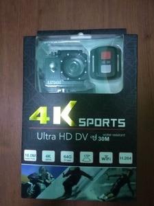Image 5 - 원격 제어 스포츠 와이파이 카메라 4 k/30f 16mp 디지털 비디오 레코더 30m 수중 카메라 방수 캠 헬멧 카메라 electshon