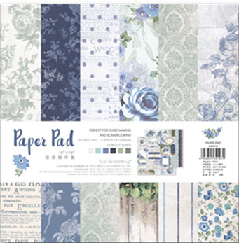 25.5*25.5cm Scrapbooking paper pack of 24 sheets handmade craft paper craft Background pad PP00725.5*25.5cm Scrapbooking paper pack of 24 sheets handmade craft paper craft Background pad PP007