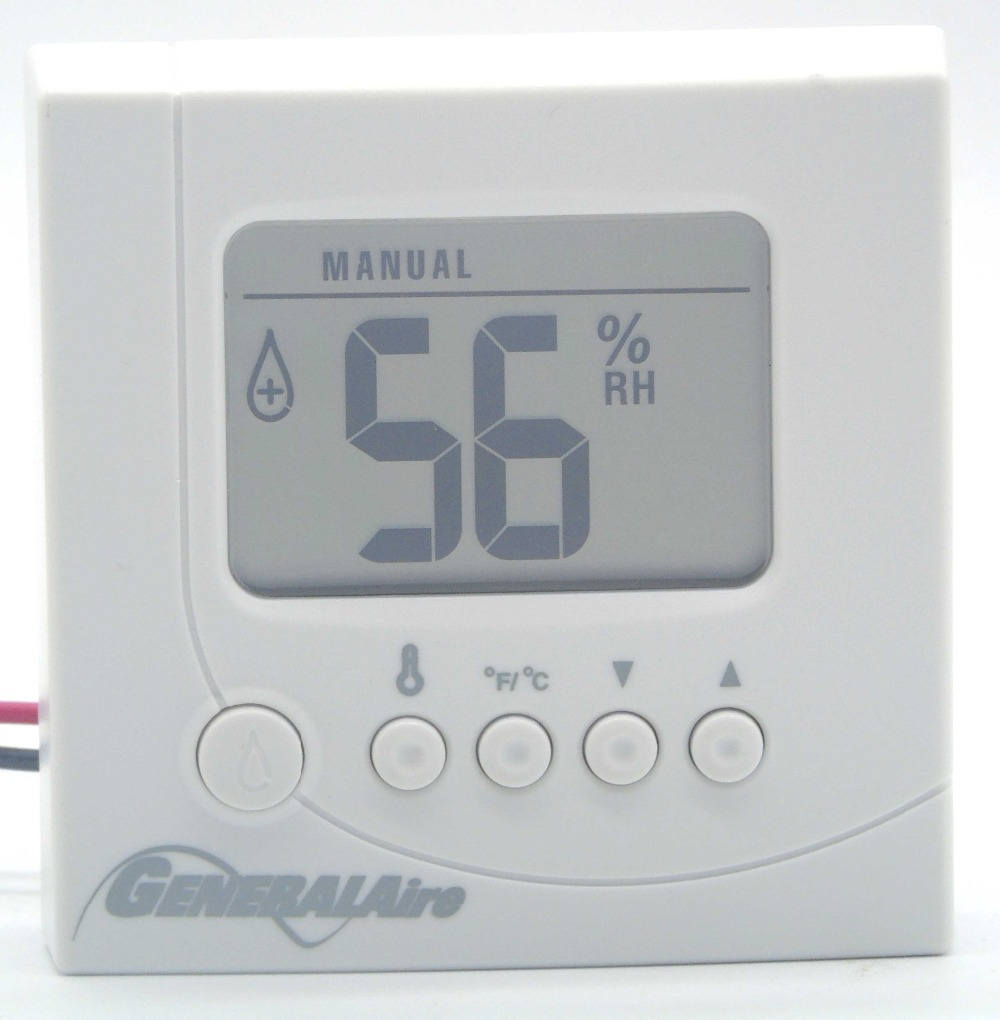 Digital temperature and humidity controller for incubator