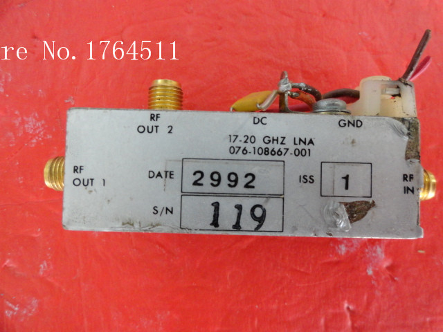 [BELLA] HARRIS 076-108667-001 17-20GHz SMA Supply Amplifier