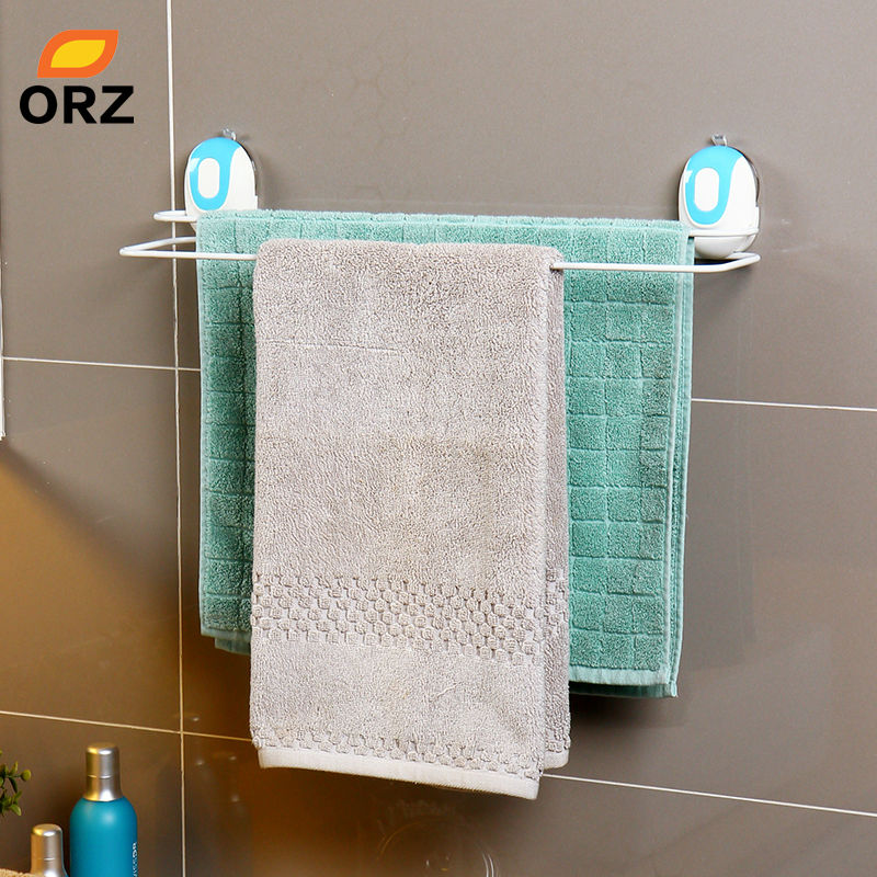 Towel Rack Bathroom Accessories Kitchen Hand Bath Towel Holder With Suction Cup Storage Rack Hanging Organizer. Online Get Cheap Bath Towel Holders  Aliexpress com   Alibaba Group