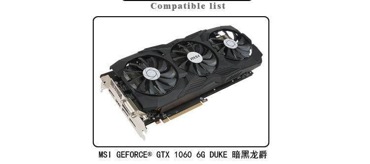 Купить с кэшбэком BARROW Full Cover Graphics Card Block only use for MSI GTX1060 6G DUKE Dark Dragon Lord GPU Radiator Block LRC RGB