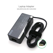 20V 3.25A 65W ADLX65YLC3A SA10M13945 01FR024 AC Adapter for Lenovo Type-C Laptop