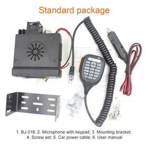 Image 5 - BAOJIE BJ 318 Walkie Talkie BJ 318 25W Dual Band VHF 136 174MHz UHF 400 490MHz FM Ham Radio BJ318 Mini Car Mobile Radio
