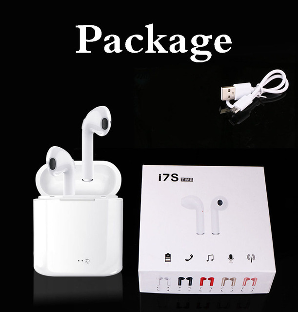 i7 i7s TWS Wireless Bluetooth Earphones In-Ear Music Earbuds Set Stereo Headset for iphone X 6 7 8 Samsung Xiaomi Retail Box Audio Audio Electronics Electronics Head phone Headphones & Headsets color: Black Pair Set Gold Pair Set Pair Black Pair Gold Pair Pink Pair Red Pair White Pink Pair Set Red Pair Set Single Black Single Gold Single Red Single White White Pair Set