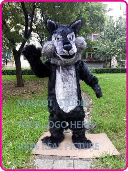 plush wolf mascot Coyote werewolf costume custom fancy costume anime cosplay kit mascotte theme fancy dress 41298