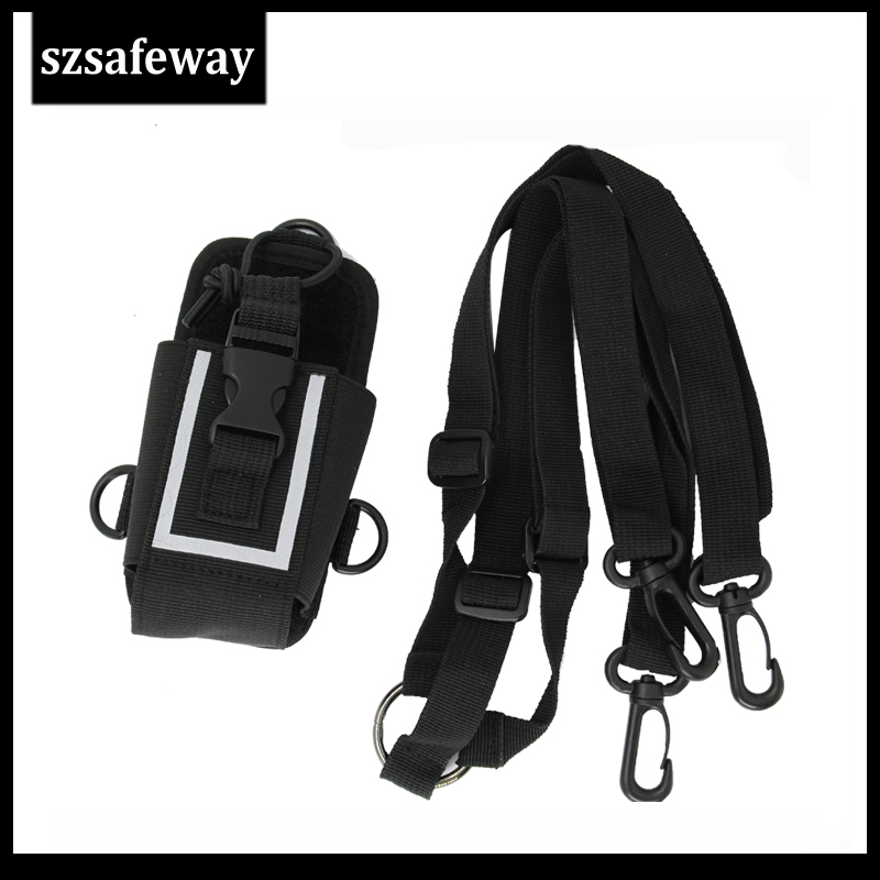 MSC-20M Nylon Two Way Radio Leather Carry Case Bag For Motorola GP328 For Hytera PD780/680 GP328 UV-82 Baofeng UV-5R