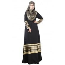 Clothes Turkey Elegant Islamic Muslim Women Kaftan Abaya Jilbab Loose Pocket Long Sleeve Maxi Dress
