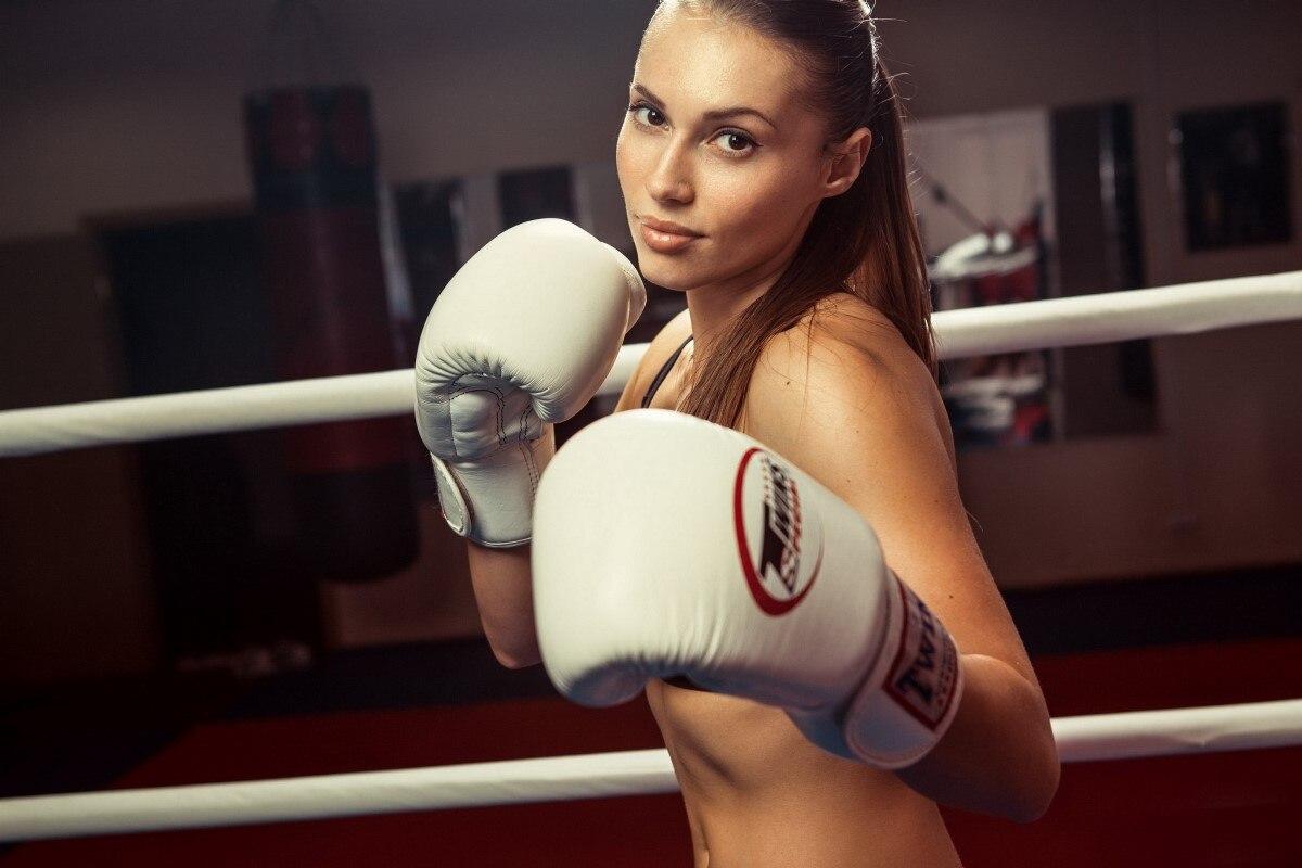 Sexy Boxing Girl Sport Yr156 Living Room Home Wall Modern
