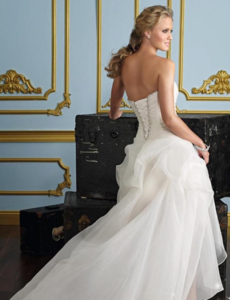 8299b183c237 High Low Plus Size Wedding Dresses