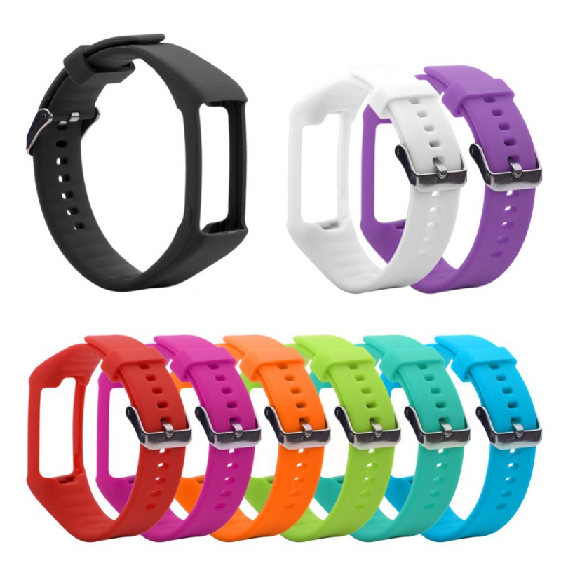Soft Silicone Replacement Watch Strap Wristband For Polar A360 A370 GPS Smart Watch Replacement Wrist Band(China)