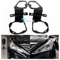 Taochis Car Styling Frame Adapter Module DIY Bracket Holder For Hyundai Sonata 2013 Hella 3 5