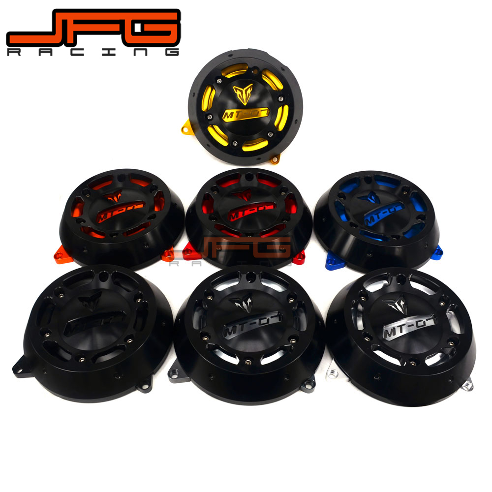 Motorcycle CNC Accessories Engine Stator Cover Protective Protector Side For Yamaha MT-07 FZ-07 MT07 FZ07 2014-2016 14 15 16 цена 2017