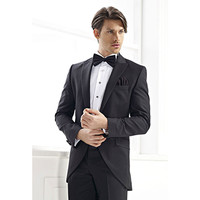 mens suits wedding groom tuxedo black tailor suit 2017 formal wear popular slim fit men dress