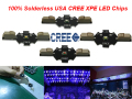 1pcs/lot Solderless CREE XPE LED 1W 3W Blue 460-470nm red 620-620nm green 515-535nm cool white 6000-6500k,LED Chip Emitter