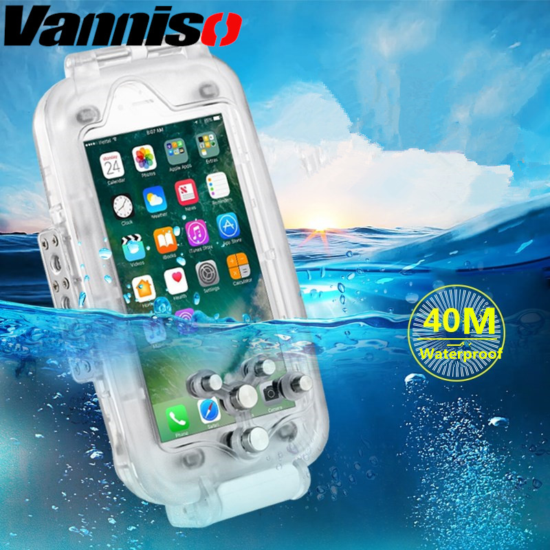 Professional Waterproof Heavy Swimming Dive Case for iphone XS X 7 8 6 plus Shockproof Outdoor Diving phone case for iphone 7 8