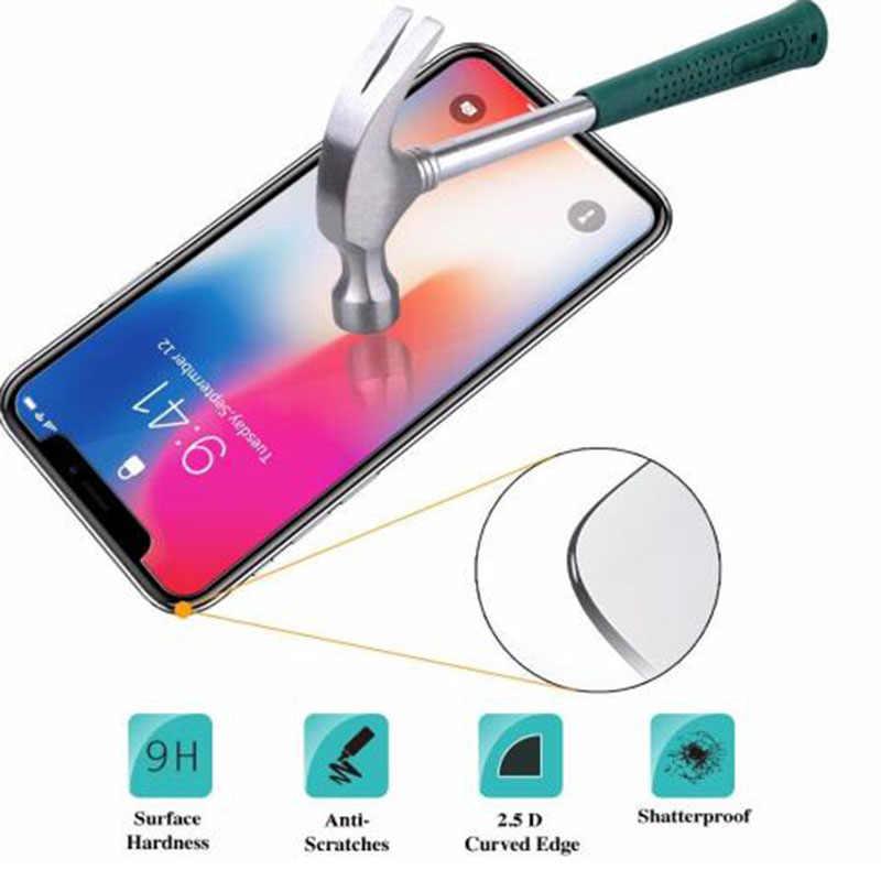 Wangcangli 0.3 millimetri Protezione Dello Schermo In Vetro Temperato Per il iphone Xs Max X Xr S Bordo Morbido 2.5D Della Copertura di Vetro di Protezione per il iphone Xsmax