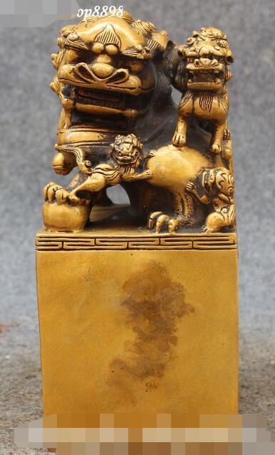 8 Chinese Pure Bronze Foo Fu Dog Guardion Lion Lions Animal Seal Stamp Signet8 Chinese Pure Bronze Foo Fu Dog Guardion Lion Lions Animal Seal Stamp Signet