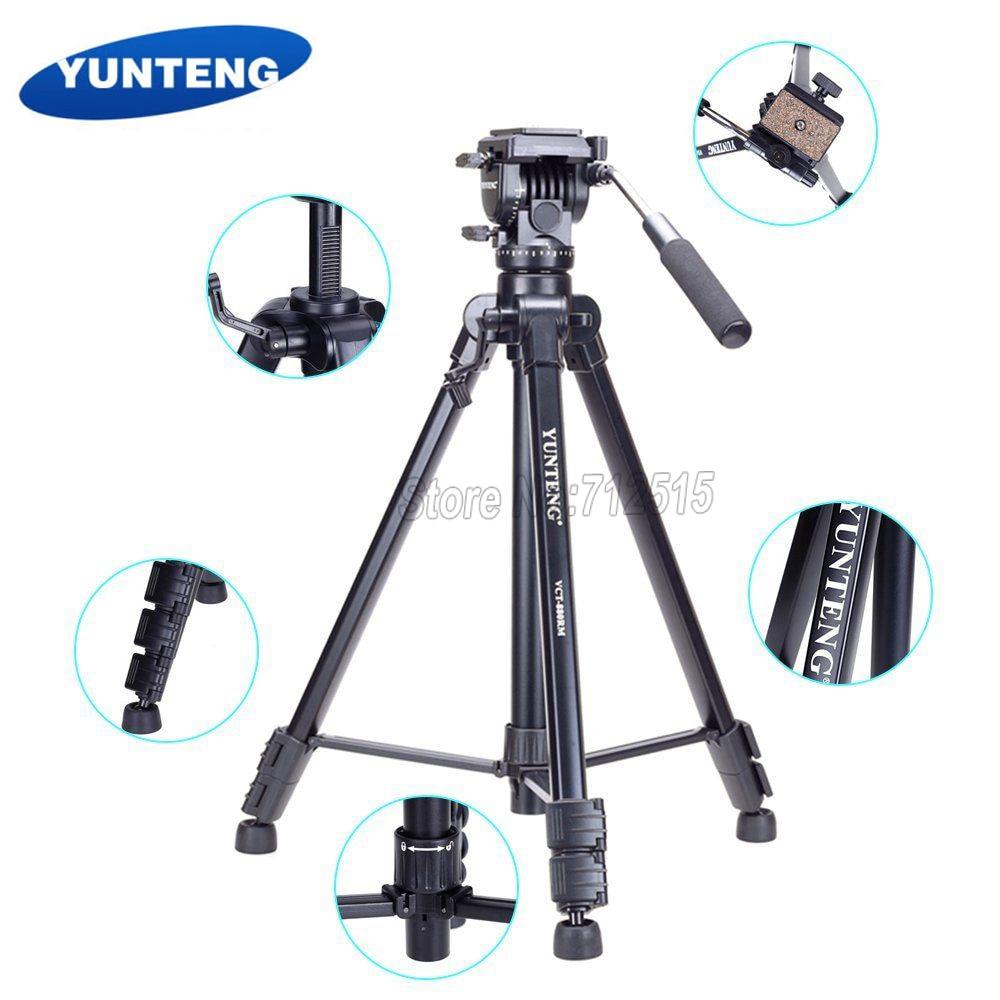 Yunteng 880 Travel Tripod VCT-880 Micro Film SLR Camera Equipment, Travel Tripod Mobile for Camera Phone yunteng vct 588 monopod