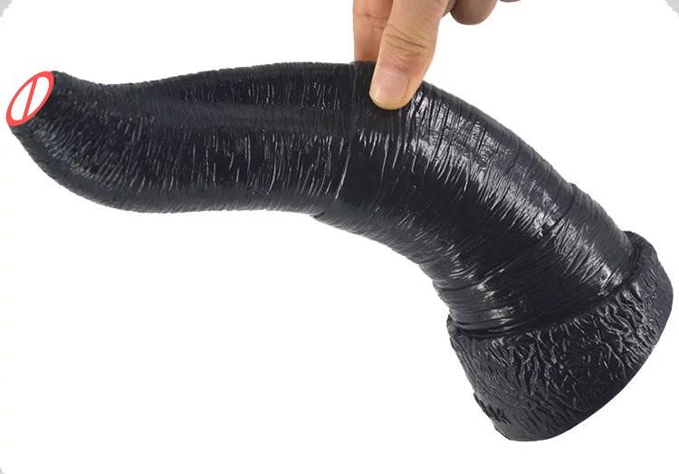 large black big dildo animal penis elephant dildo artificial penis male female anal plug woman couples masturbation sex toys 10