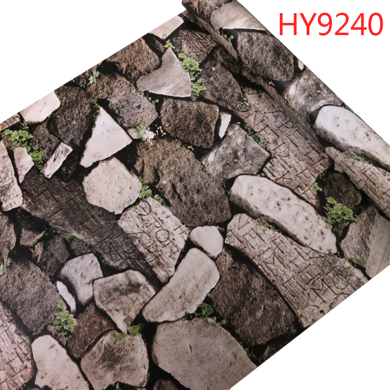 Papel De Parede Quality Wall Paper Stone Brick Wallpaper Easy To Use Clean For Livingroom Tv Textured L And Stick In Wallpapers From Home