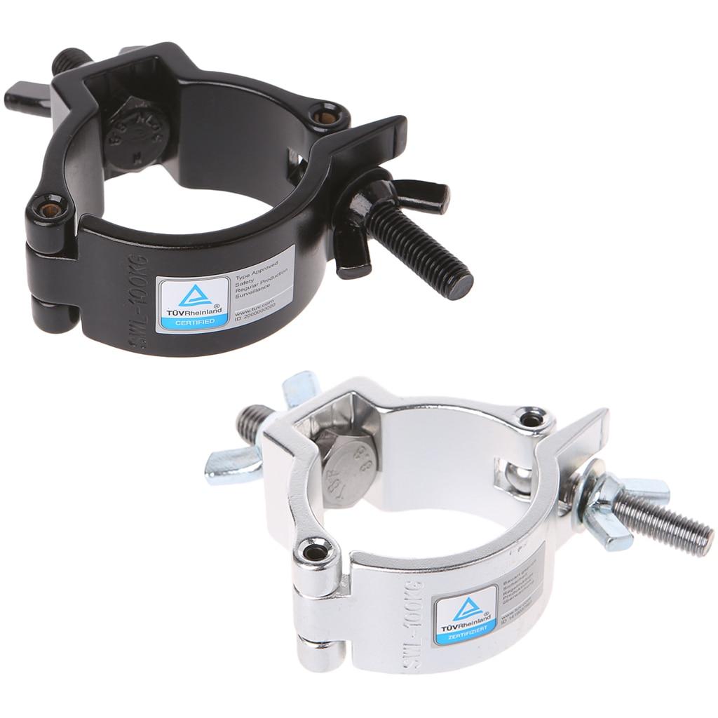 New Style DJ Light Aluminium Material Stage Light 100kg 48-51mm Hook Light Clamp Holder