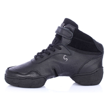 White/Black/Red Original Women/Men Modern Salsa Jazz Dance Shoes Genuine Leather With Breathable Dance Sneakers Plus Big 27.5cm