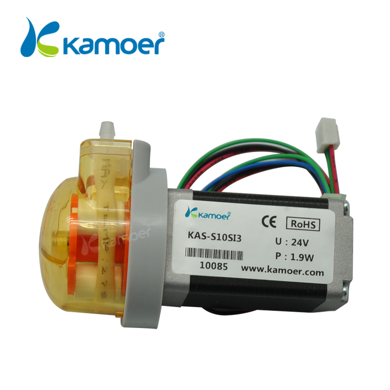 Kamoer 12V/24V KAS small peristaltic pump with stepper motor mini dosing water pump лессинг д бабушки пер с англ isbn 978 5 699 74630 9