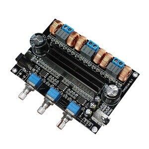 Image 4 - TPA3116D2 18V a 24V Subwoofer Digital Audio Amplificatore Consiglio 50w + 50W + 100W 2.1 canale amplificador B1 002