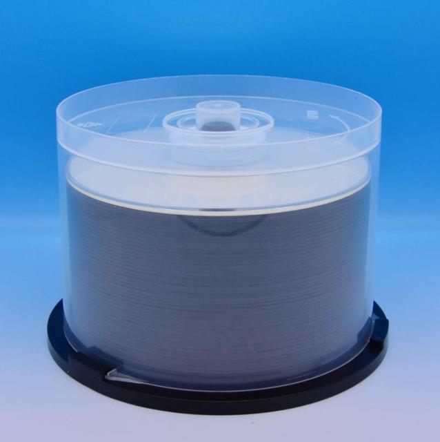 50 חתיכות 50GB BD R 2 6X מהירות + CMC Injet להדפסה Bluray DL שכבה כפולה דיסק ריק