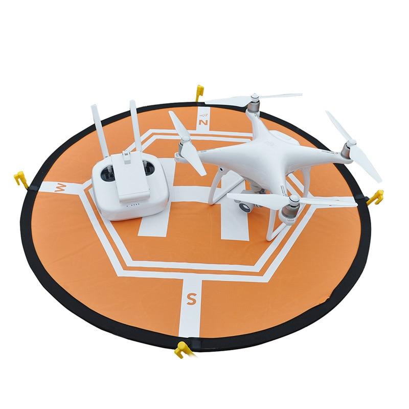 DJI RC Drone Quadcopter Fast-fold Luminous Parking Apron Foldable Landing Pad 80CM for DJI Mavic Pro Phantom 3 4 Inspire 1 2