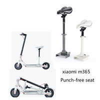 High Quality Xiaomi M365 Scooter Soft Seat Height Adjustable Electric Scooter Special Seats Foldable Saddle Punch free seat part