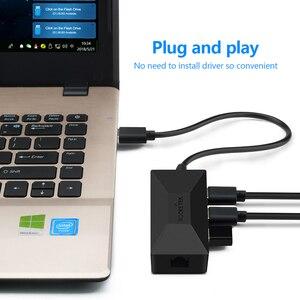 Image 5 - Rocketek USB 3.0 a Rj45 Hub Gigabit Ethernet Adapter 1000Mbps per Xiaomi Mi Box 3/S 4 4c se Android TV Set top Scheda di Rete Lan