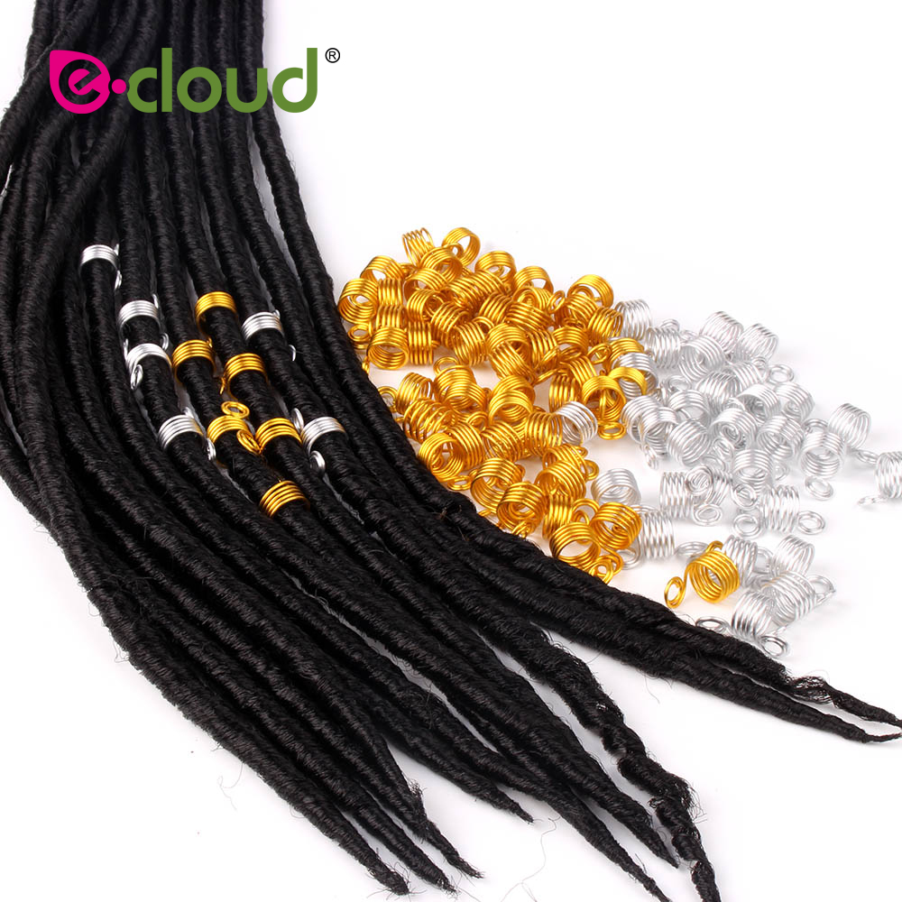 US $3.77 21% OFF|50 Pieces Copper Hair Dreadlocks Coil Hair Wraps Braiding  Dread Locks Metal Hair Cuffs for braids hair accessories (Silver Gold)-in  ...