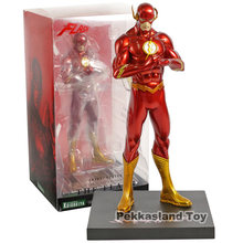 DC A Nova Liga Da Justiça JLA Super Herói The Flash Barry Allen PVC Anime Superman Action Figure Gift Collection Modelo Toy(China)